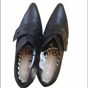 Zara women black shoe bootie size 10